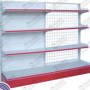 B Single Sided Steel Board Supermarket Rack SL003